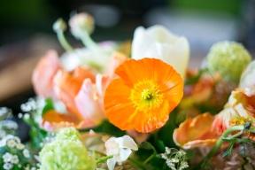 Beautiful flowers by Blackhouse Flowers.