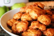 Apricot Gruyere gougeres