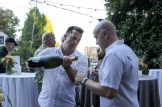 Jeroboam champagne... Just enough for these two