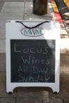 First time we are seeing Locus Wines without us writing it