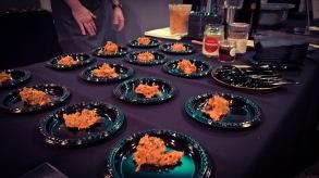 the carrot hummus