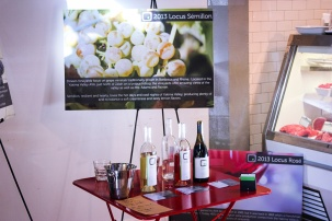 We are geeks: We show up with our panels, datasheets and oh, the wines.