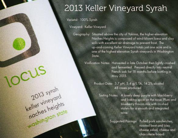 2013 Keller Syrah Datasheet-01