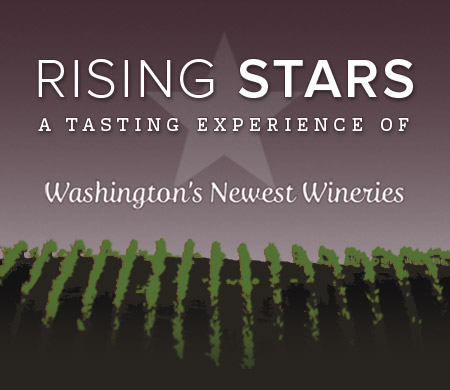 Rising Stars, Walter Clore Wine and Culinary Center, May 20, 1-4PM