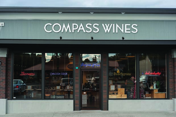 Compass Wines Locus Tasting, 7/26/17, 4-6 PM in Anacortes, WA